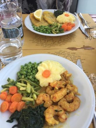 Lunch in Rivoli, Piedmont