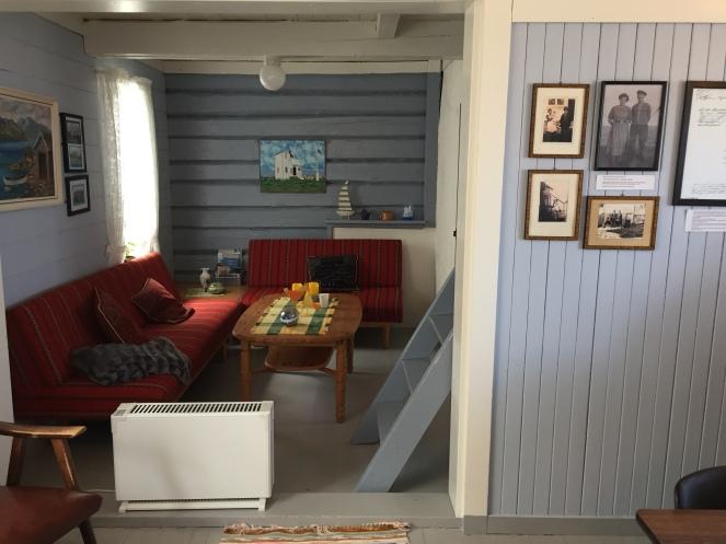 Inside the light house