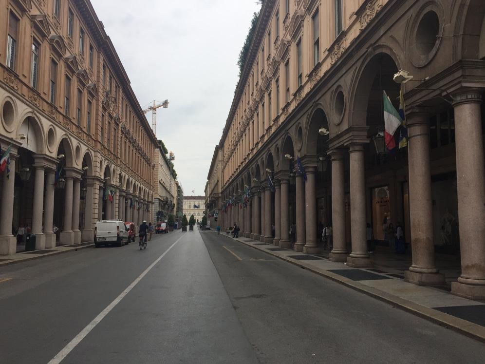 Via Roma shopping street