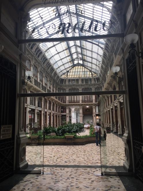 Elegant hall
