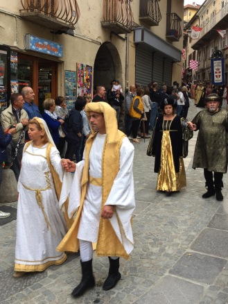 Typical Medieval costumes