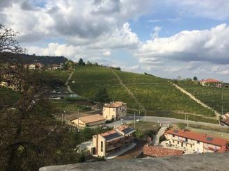 The view og the landscape