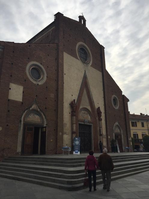 The church of Saluzzo