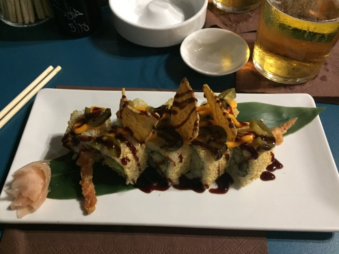 Taco sushi