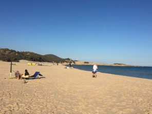 Large beaches
