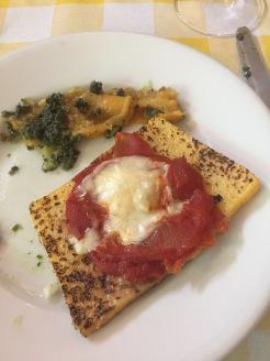 Appetizer with Polenta