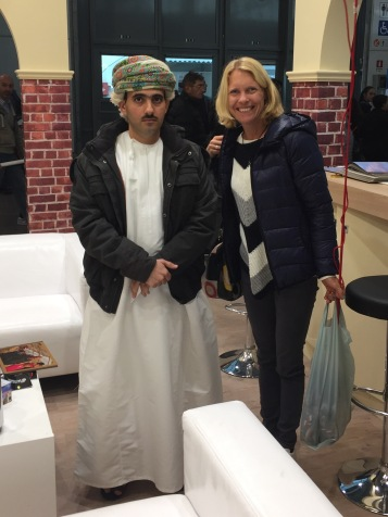 Me and the sheikh