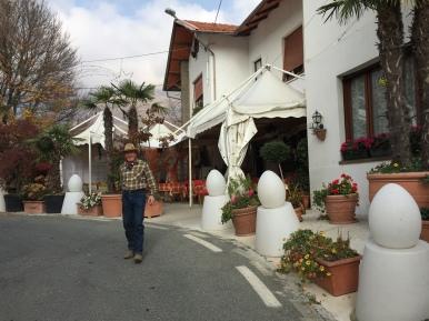 The restaurant Miramonti
