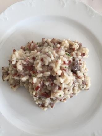 Rice with mushroom