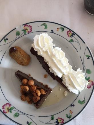 Three sweeties in one plate