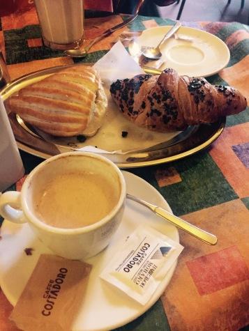Cappuccino in Moncalvo