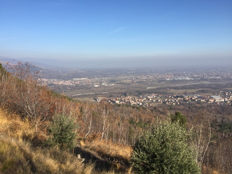 The view of the valley