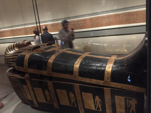 The coffin of the king