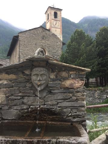 A strange statue