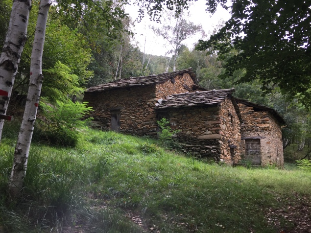 An old farm made of rocks