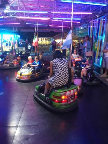 The carousel cars
