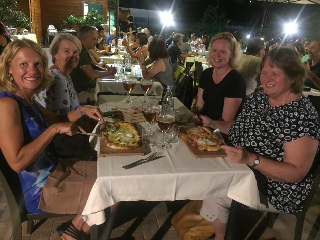 Dinner outside