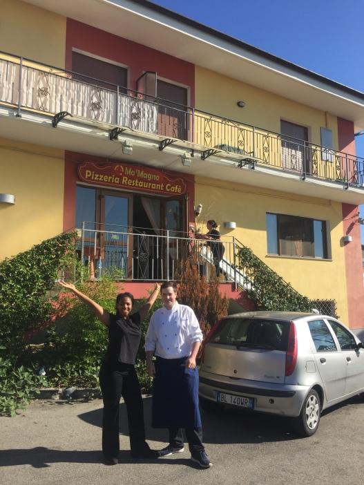 Florian and Antonia in Balangero