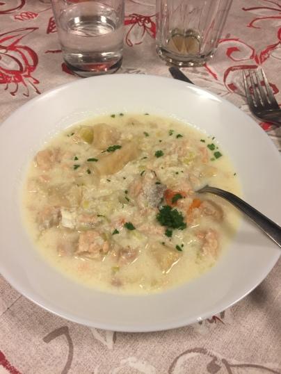 Norwegian fish soup by Ida